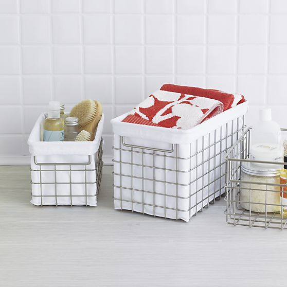 Wire Basket Liners | Crate And Barrel