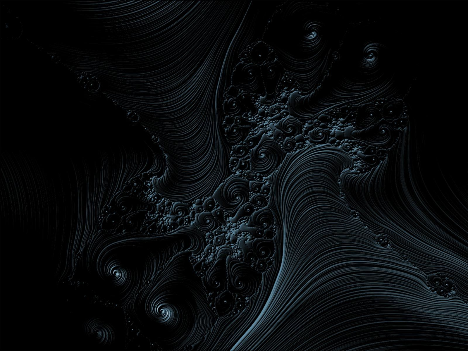Beautiful Fractal Art Dark Abstract Art In 2019 Dark