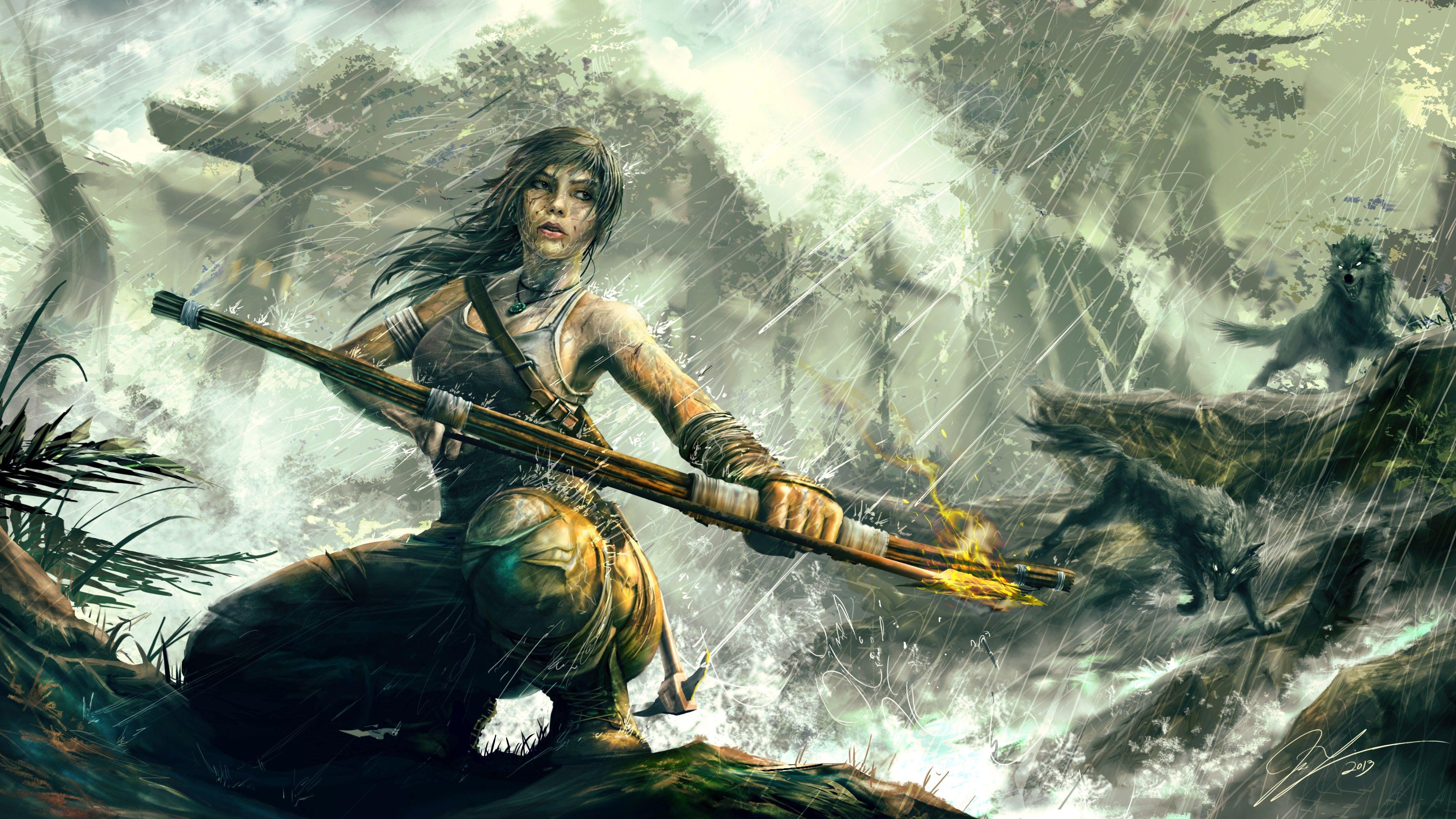 3840x2160 Tomb Raider Reborn 4k High Quality Wallpaper For Desktop Tomb Raider Art Tomb Raider Wallpaper Tomb Raider Lara Croft