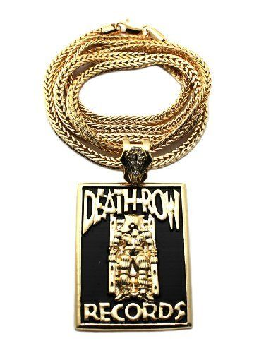 New iced out goldblack death row records square pendant w4mm 36 new iced out goldblack death row records square pendant w4mm 36 franco chain xp874g nyfashion101 inc 2699 goldblack pendant death row records aloadofball Choice Image