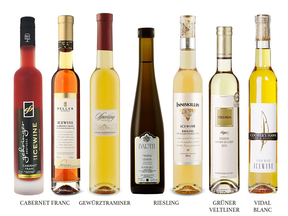 Ice Wine You Re So Fine A Detailed Guide Vino Dulce Vinos Y
