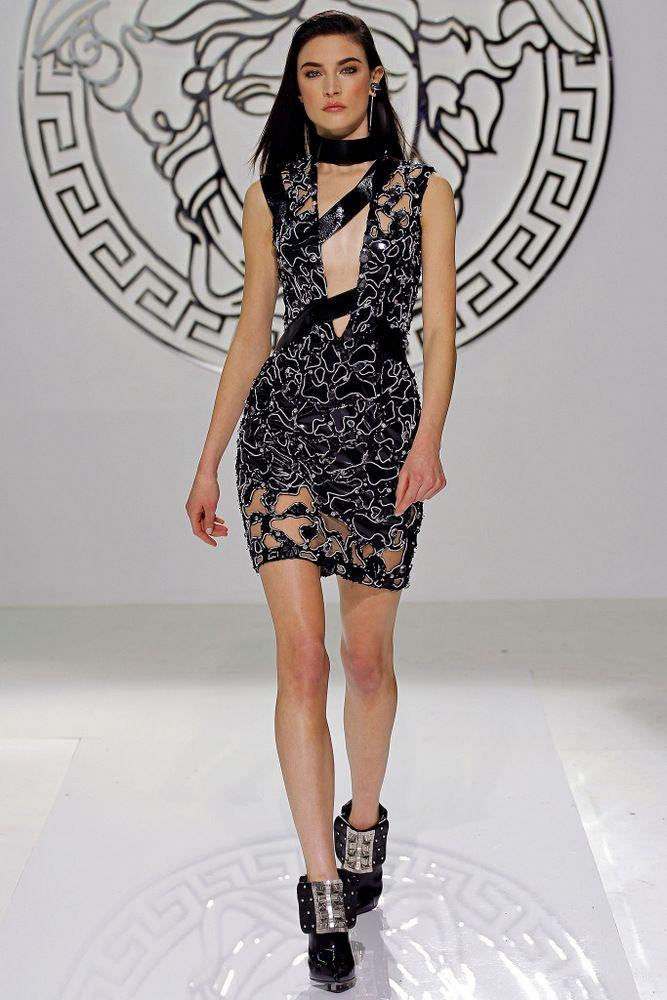 Jacquelyn Jablonski - Versace FW 2014