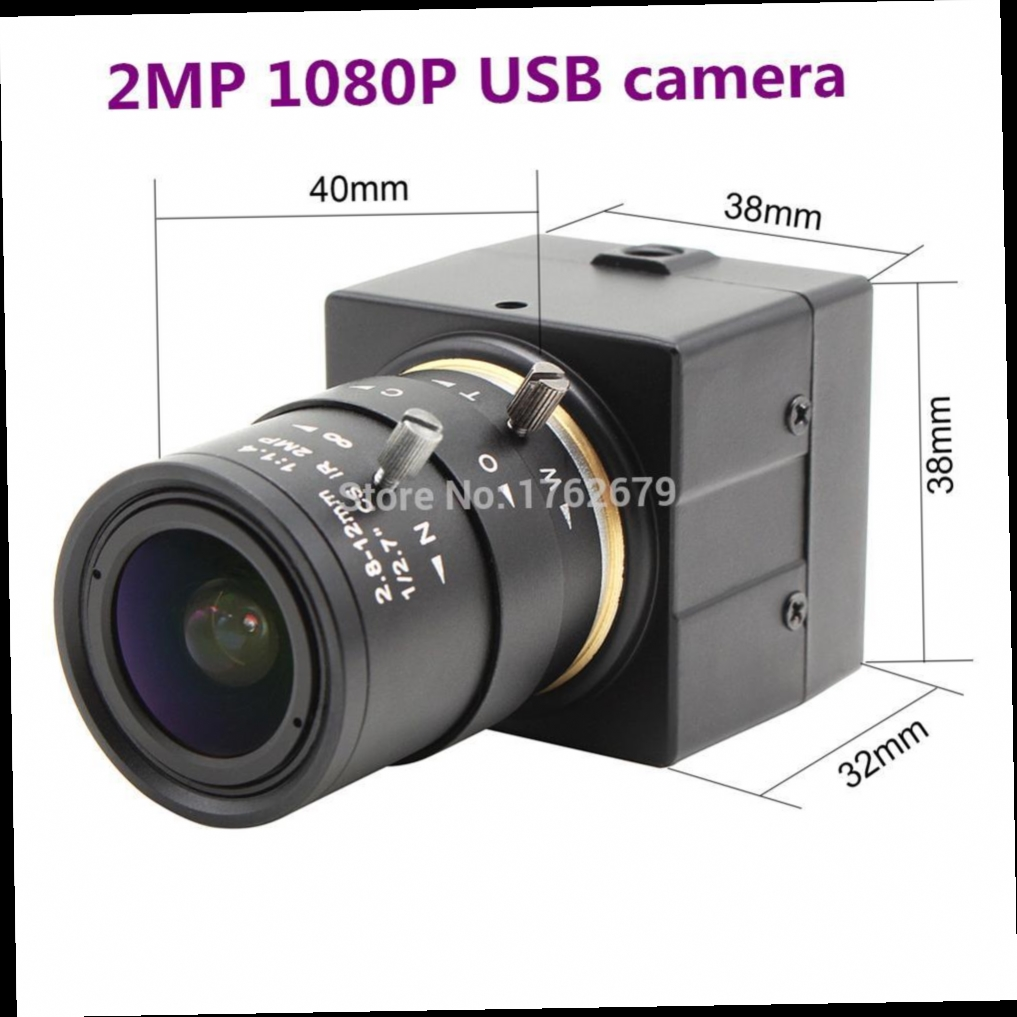 54.88$  Buy here - http://alif9b.worldwells.pw/go.php?t=32773542809 - 1080P 1920 x 1080 H.264 usb camera UVC for Linux Android Windows with 2.8-12mm varifocus lens 54.88$