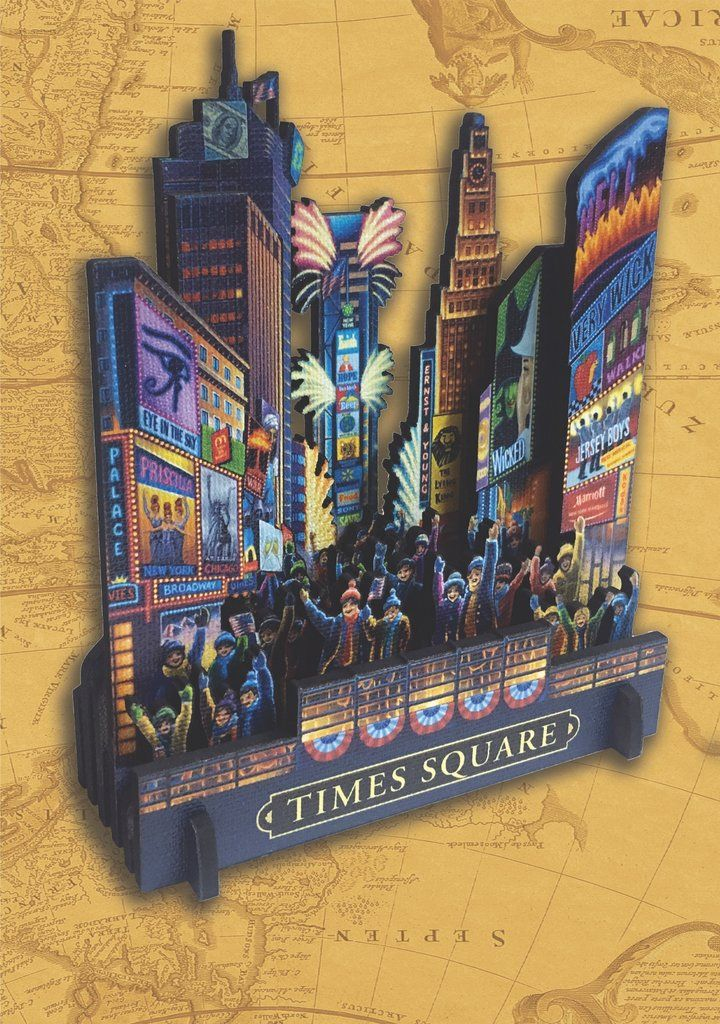 Time Square 3D Puzzle 3d puzzles, Puzzle, Times square