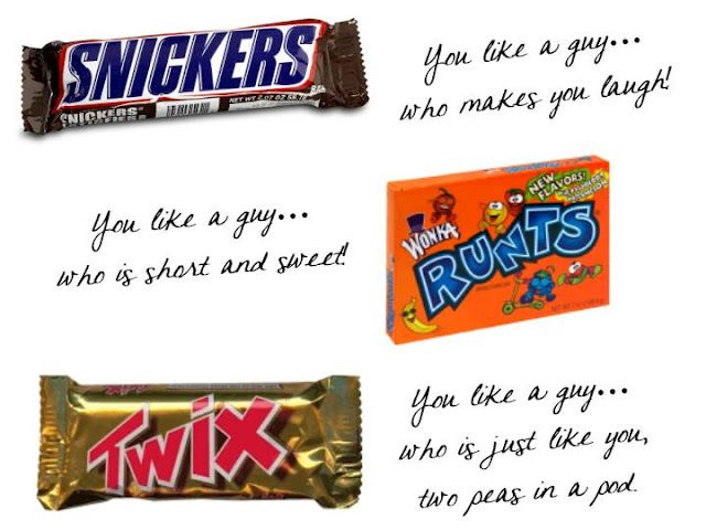 Candy bar dating lesson