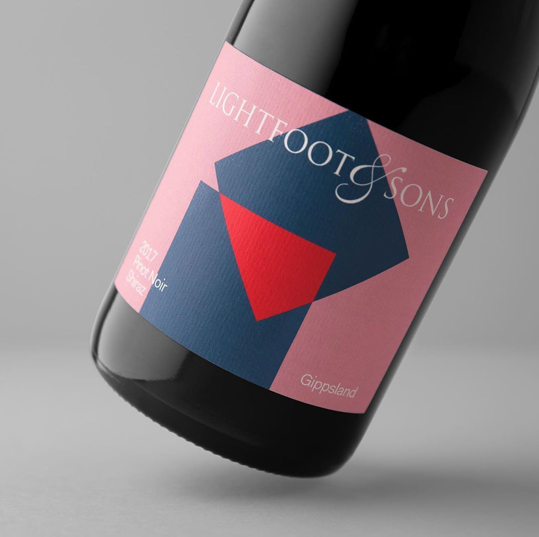 Sarah Mangion On Instagram Limited Edition Wine Labels For Lightfoot And Sons Photography Foliolio Wine Creative Packaging Lightfoot