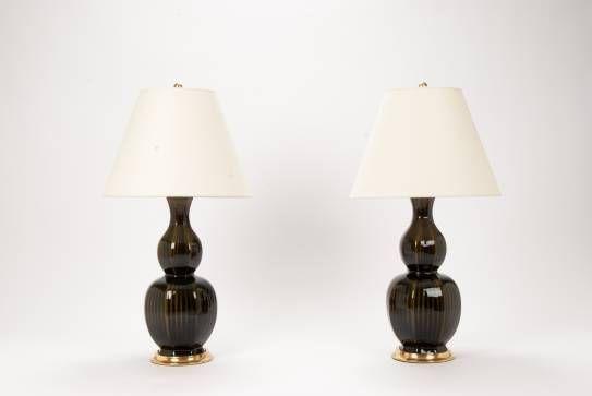 Christopher Spitzmiller Delft Olive Lamp - Mecox Gardens #NewYork #interiordesign #lighting #home #decor #design #NYC #MecoxGardens