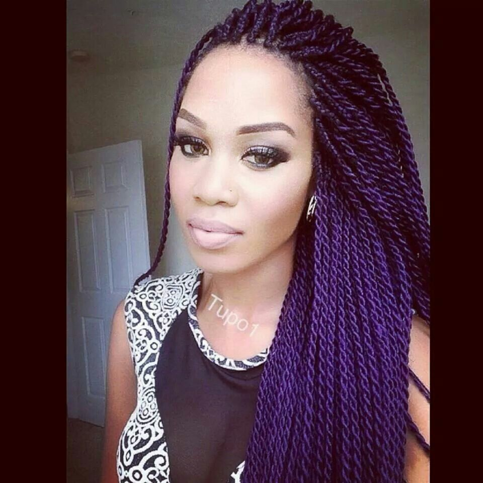 Senegalese Twist (love these) | Love Your Hair | Braided ...