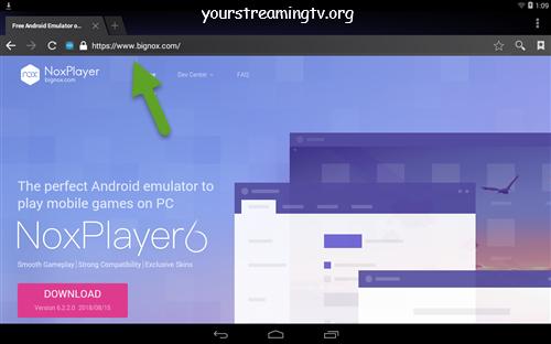 NoxPlayer Emulator Install Guide APK APP Your Streaming TV