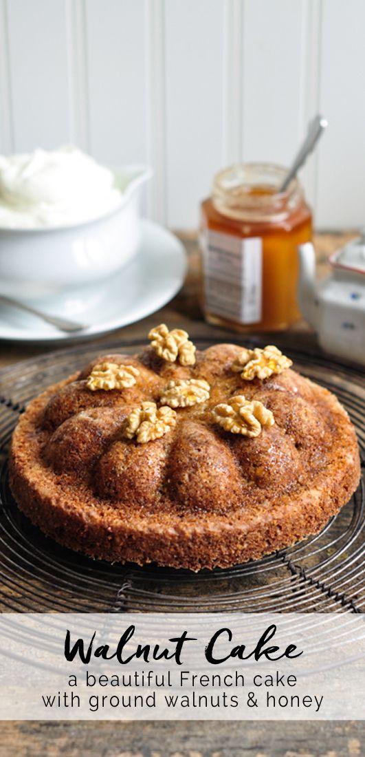 Walnut Cake. Adapted from Mimi Thorisson | eatlittlebird.com