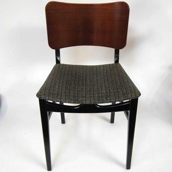 Vintage 1950s Beautility Dining Chairs Ebonised 4 In Stock Dining Chairs Chair Vintage Furniture