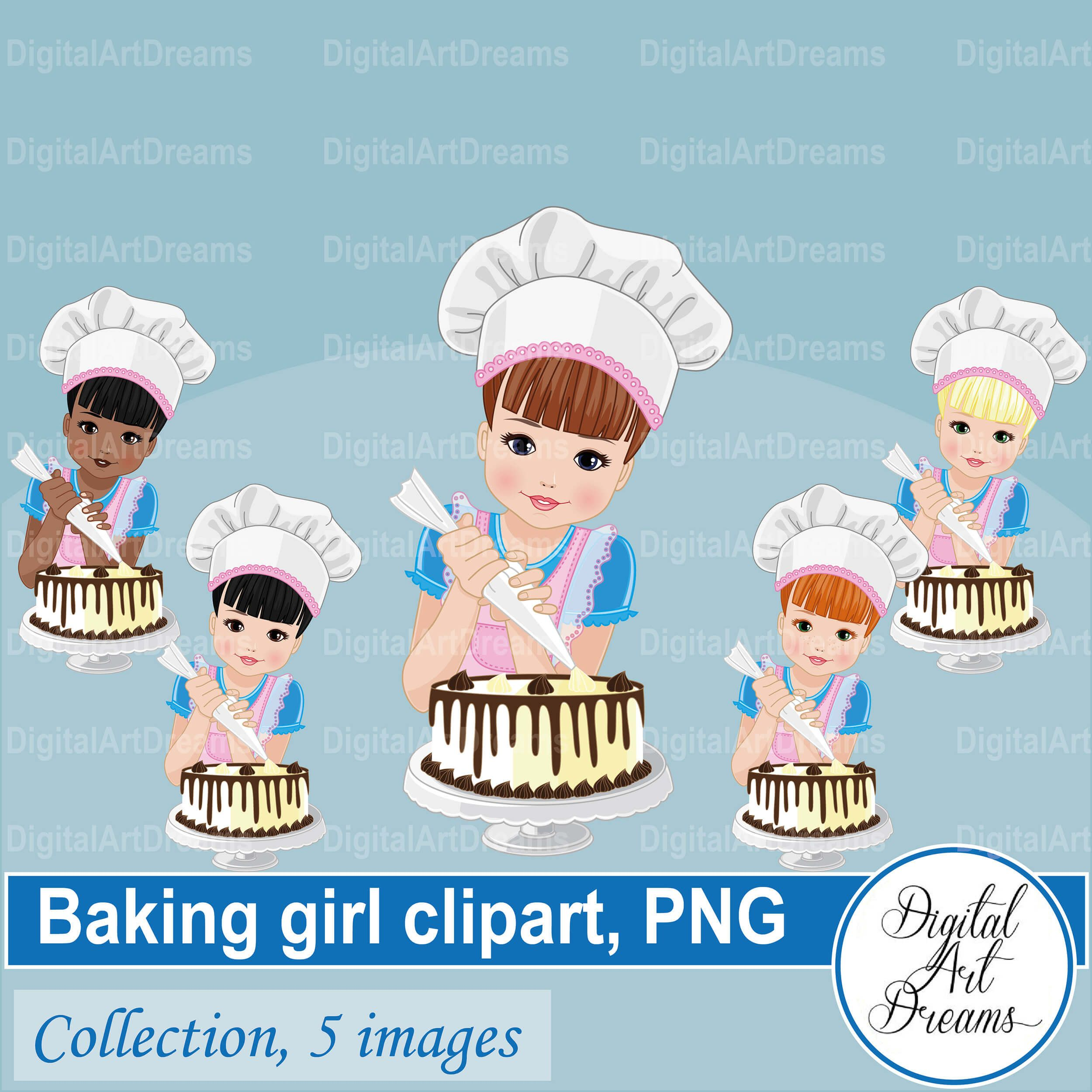 Woman Cooking Cupcakes In The Kitchen Vector Illustration Royalty Free  Cliparts, Vectors, And Stock Illustration. Image 107870309.