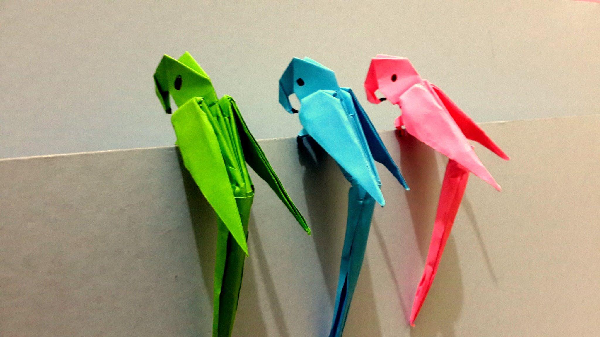 Comment Faire Origami 3d Parrot Best Origami Tutorial Origami