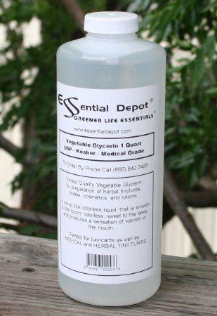 Kosher Vegetable Glycerin - make diy shampoo thicker