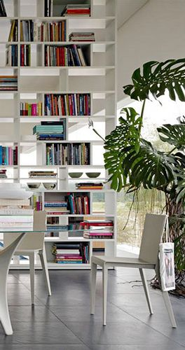 Home Design Library Bookshelf Room Divider