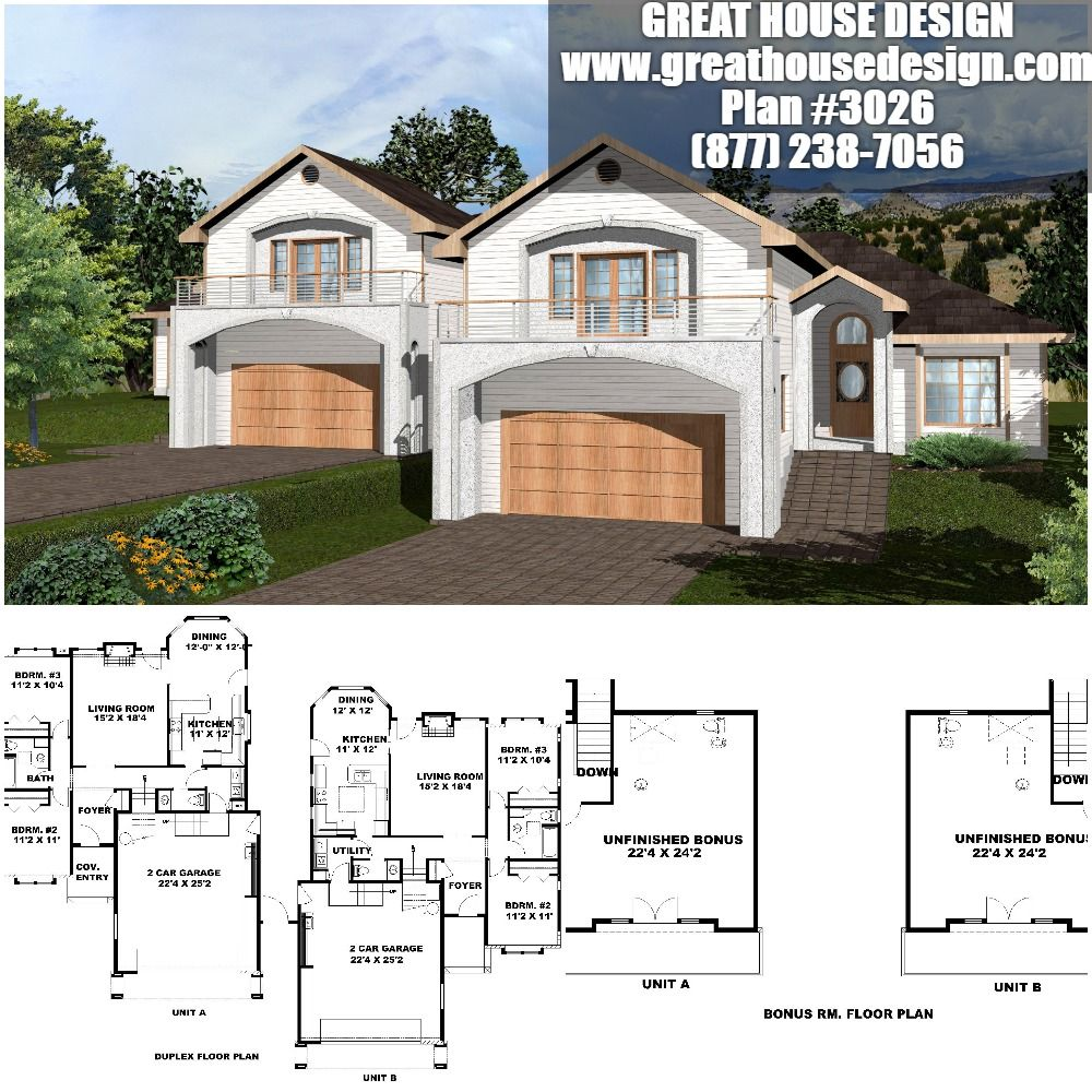 Toll Free (877) 238-7056 #houseplans #housedesign # ...