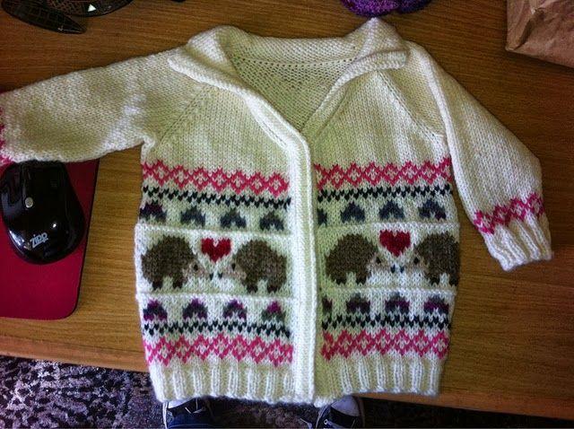 Hedgehog Bliss Sweater