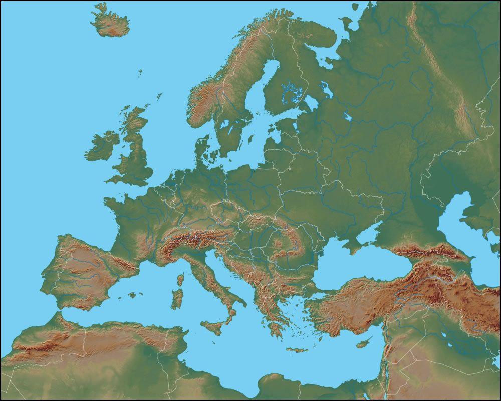 Europe Map Geography – Europe Map Geography