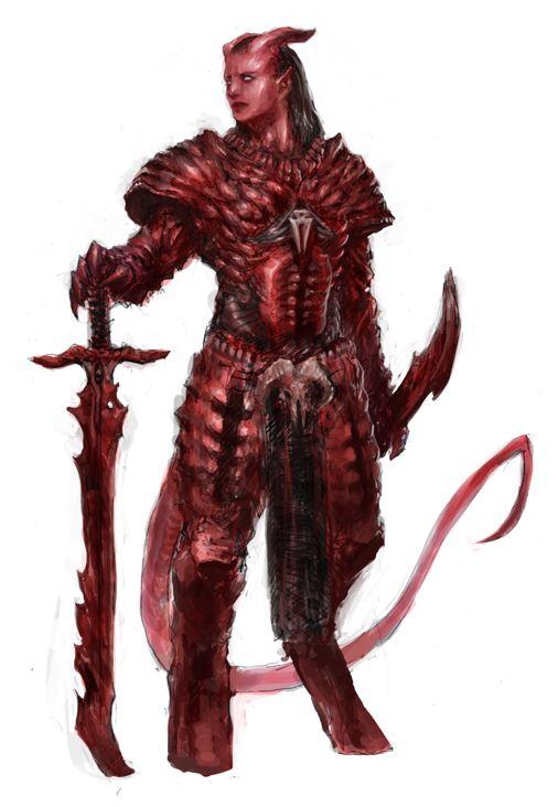 Paladin of Asmodeus by SirHanselot | RPG Characters ...