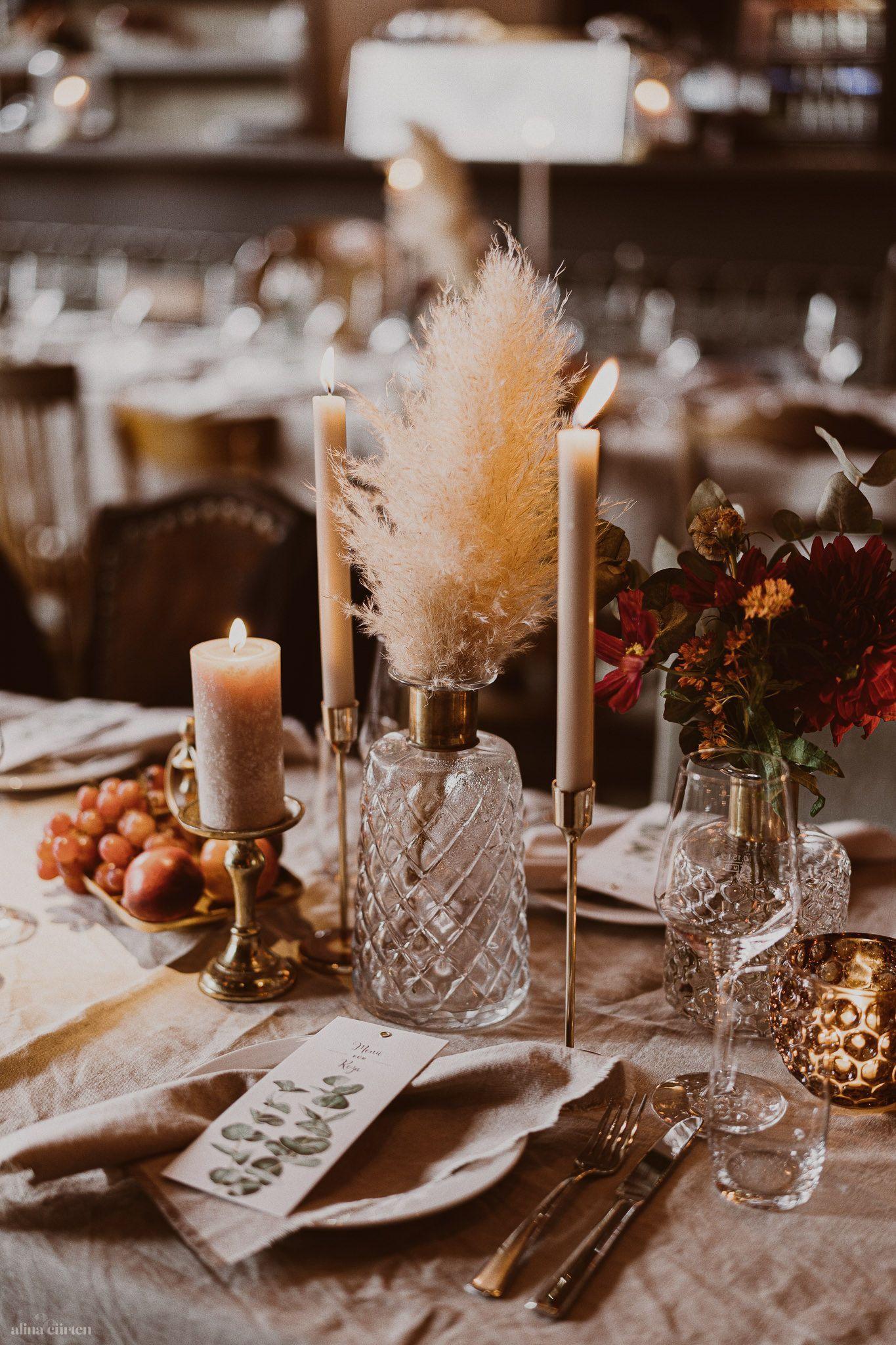 Boho Wedding / Find your seat / Artischocken / Obs