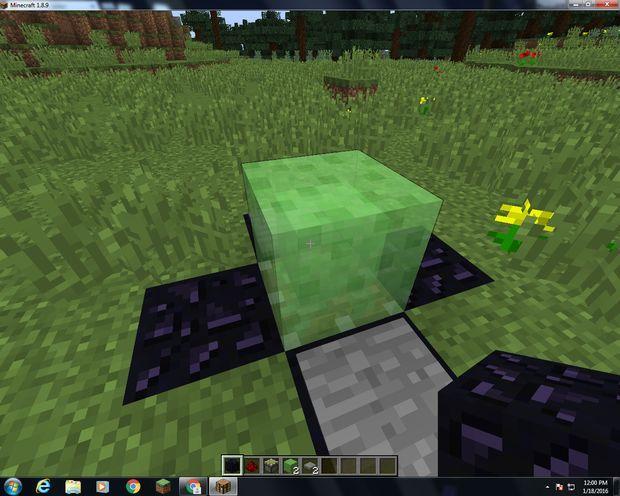 How To Make A Trampoline In Minecraft Minecraft Redstone