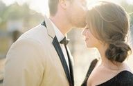 Pin By Yvonne Washington On Stuff I Like Wedding Hairstyles Jose Villa Photography Forehead Kisses