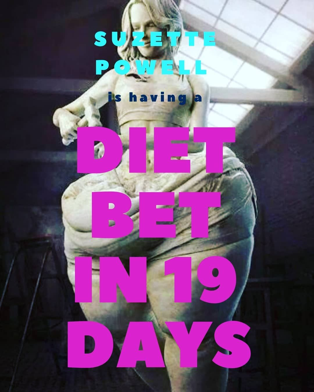 19 days to do for the diet bet #12weekchallange #healthyliving #fitness #summerbody #bikinitime Ente...