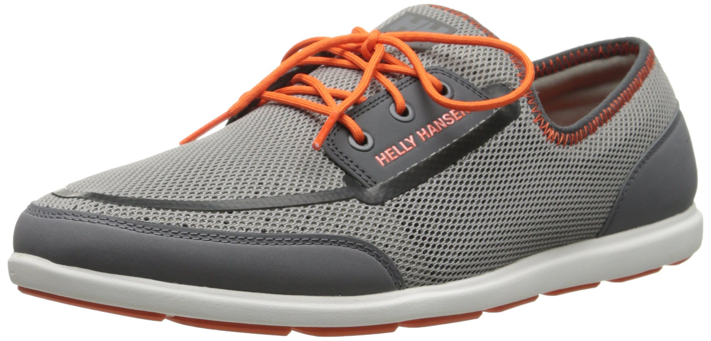 Helly Hansen Men's Trysail Boat Shoe, New Light GreyMid
