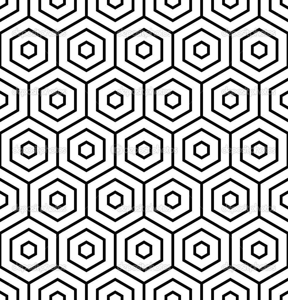 Hexagon Pattern Vector Custom Decorating