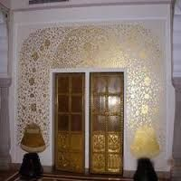 gold foil work in interior - Google Search