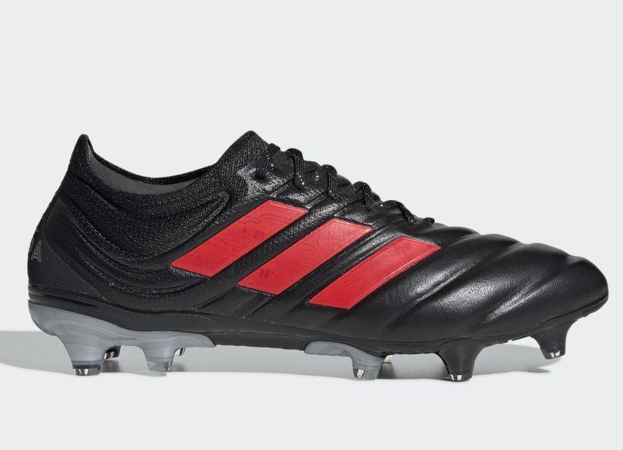 Adidas Copa 19.1 FG 302 Redirect Core Black Hi Res Red