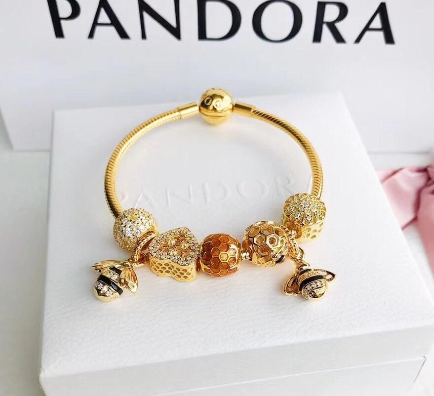 pandora bracelet rose gold price