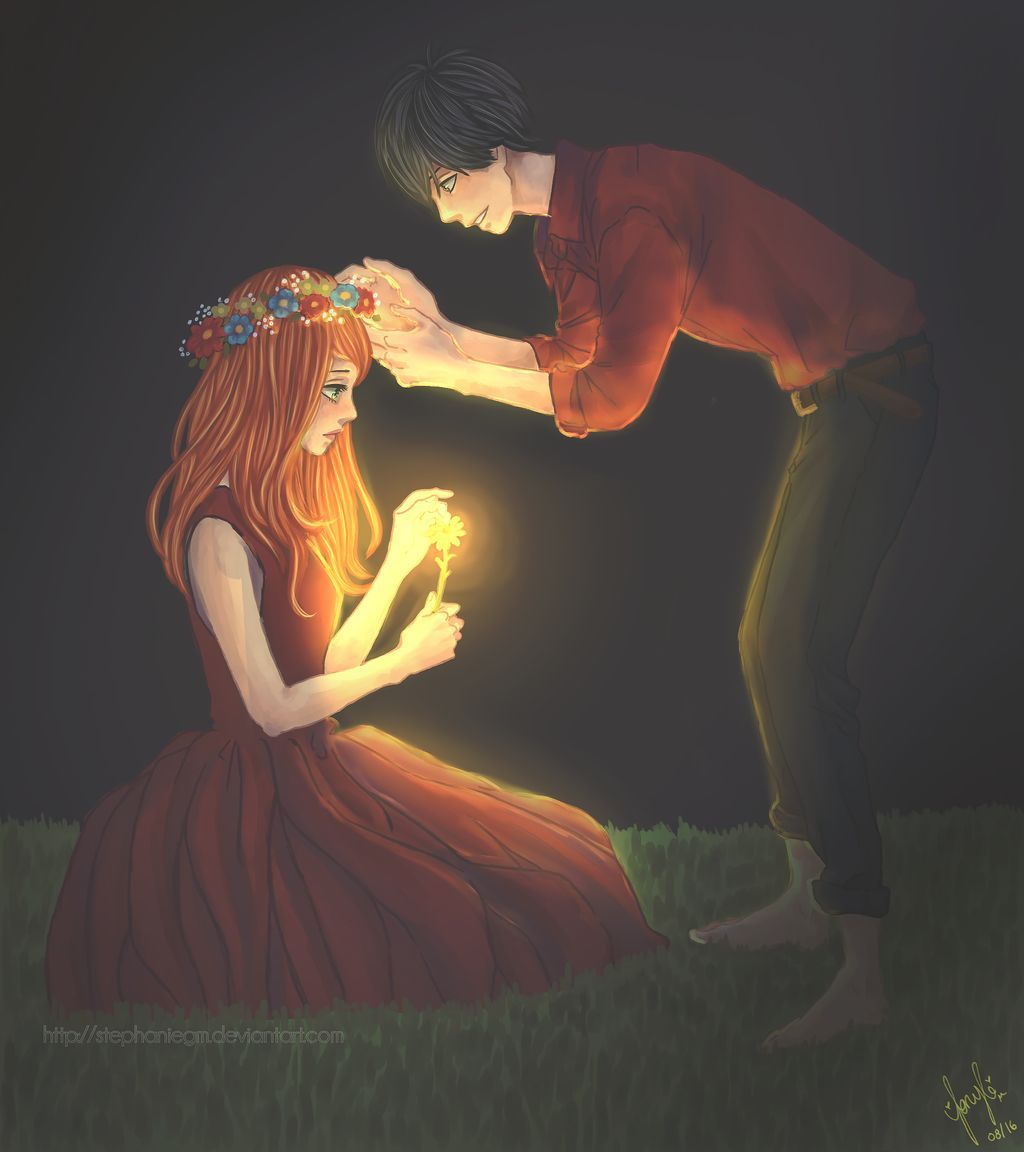 I See In You The Light - Orange by Stephaniegm on DeviantArt