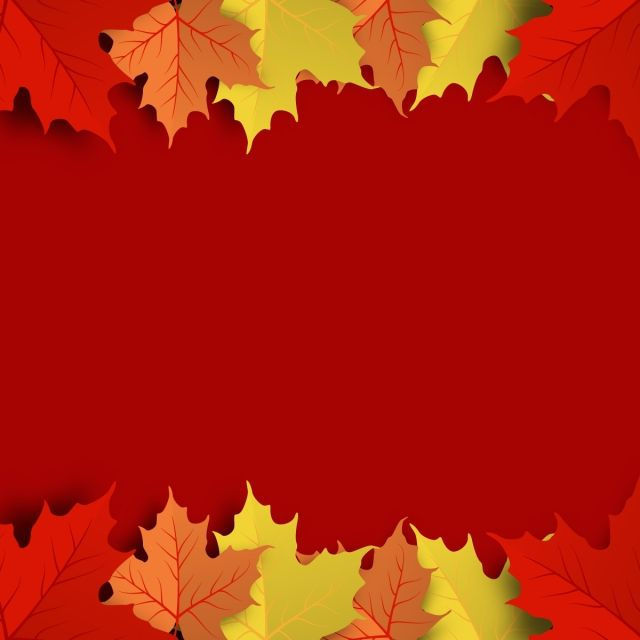 Leaf Isolated Abstract Free Fall Beautiful Arrangement Maple Autumn Composition Red Plant Orange Vector Gold Group Backgr Leaf Background Red Plants Background