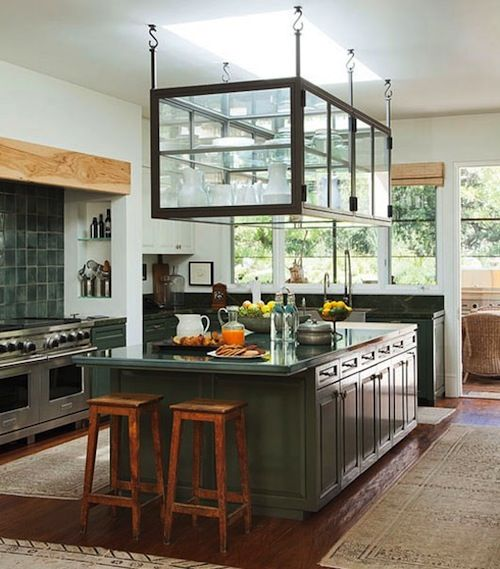 Helpful Hanging Cookware Storage Ideas For Your Kitchen Celebrity Kitchens Home Celebrity Houses