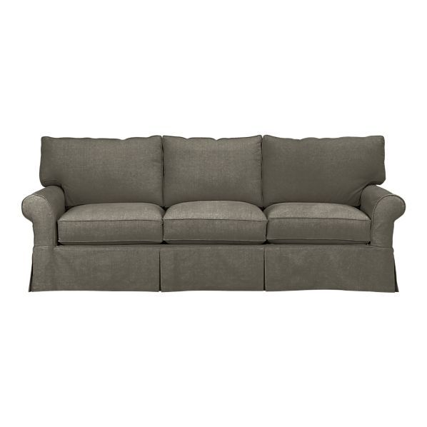 90 X 36 Cortland Sofa In Sofas Crate And Barrel Couch Ideas
