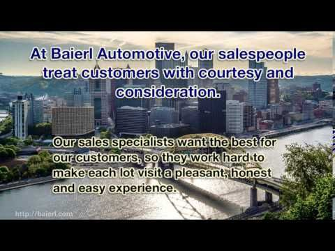 http://www.baierl.com/blog/2013/01/why-quality-customer-service-means-more-than-pricing-and-gimmicks.cfm  At Baierl Automotive, we offer the following new car brands: Acura, Cadillac, Chevrolet, Fiat, Honda, Kia, Mitsubishi, Scion, Subaru and Toyota.