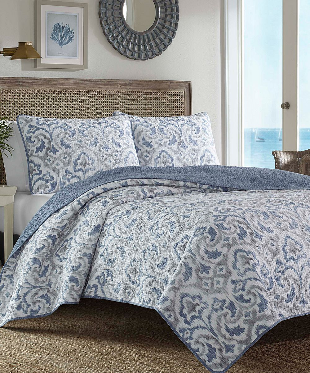 Tommy Bahama® Blue Cape Verde Quilt Set