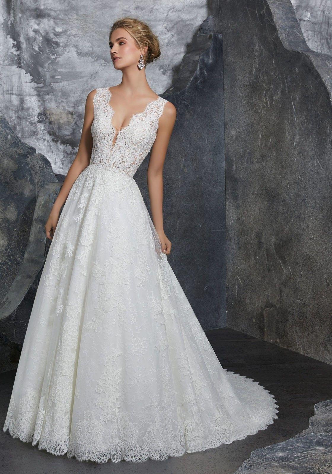 Mori Lee 8208 Kelly V Back A Line Bridal Dress Mori Lee Wedding Dress Ball Gowns Wedding Wedding Dress Styles