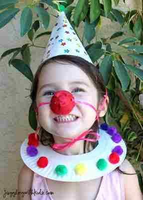 Juggling With Kids Clowning Around Clown Costume  sc 1 st  Pinterest & Clown project simcha week | Camp | Pinterest | Craft