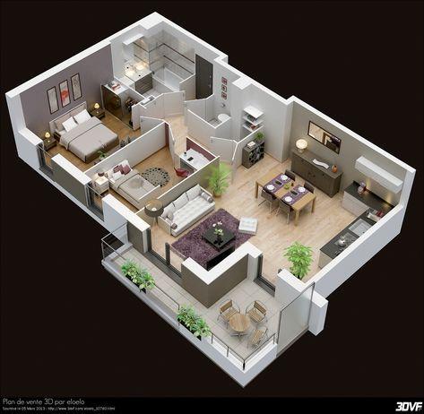 Plan Maison Moderne D