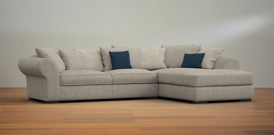 California large corner sofa right Divani, Arredamento