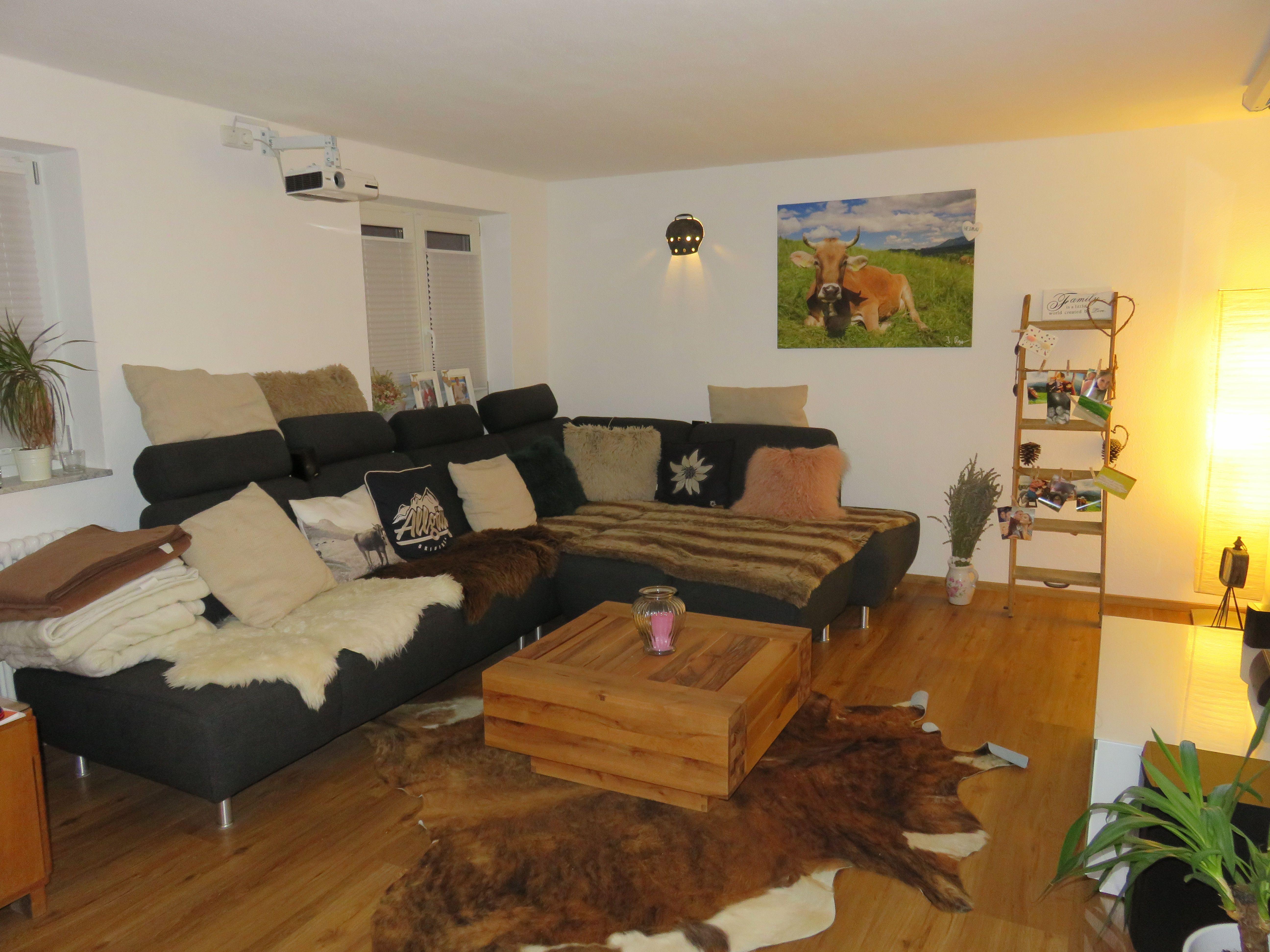 Wohnzimmer Rustikal ~ Wohnzimmer rustikal gemütlich allgäu style alpen ländlich