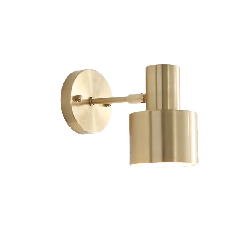 Gyllhem Gold Wall Lamp With Swing Arm Wall Lights Wall Mount