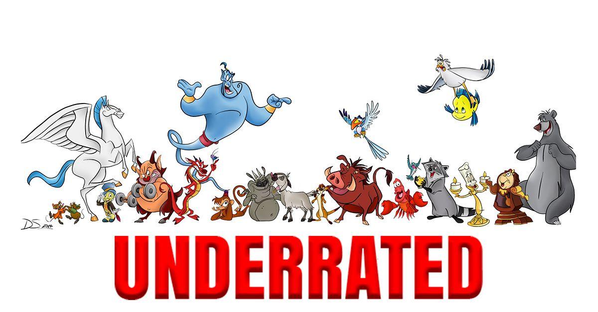 Underrated: Disney Sidekicks | Disney sidekicks, Disney ...