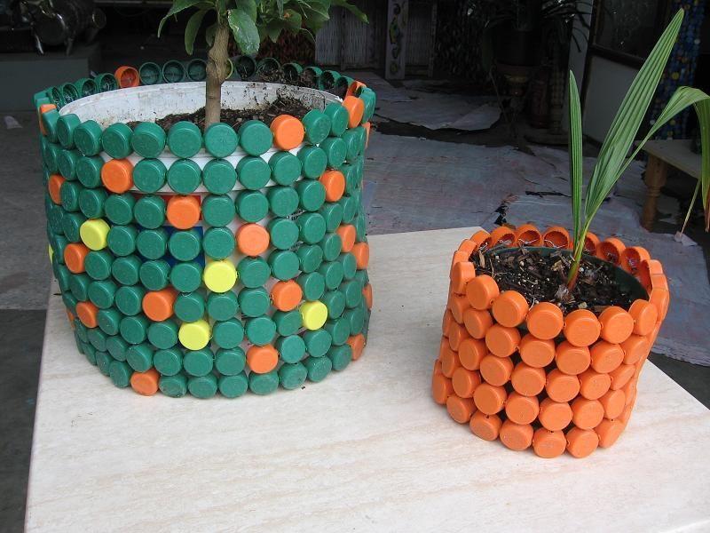 Souvent 9 idées de récupération de bouchons en plastique! | Bouchons  VX27