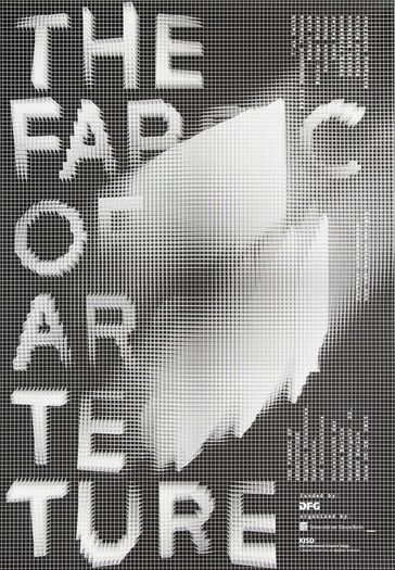 fabric of architecture 1 poster by cdlx codeluxe