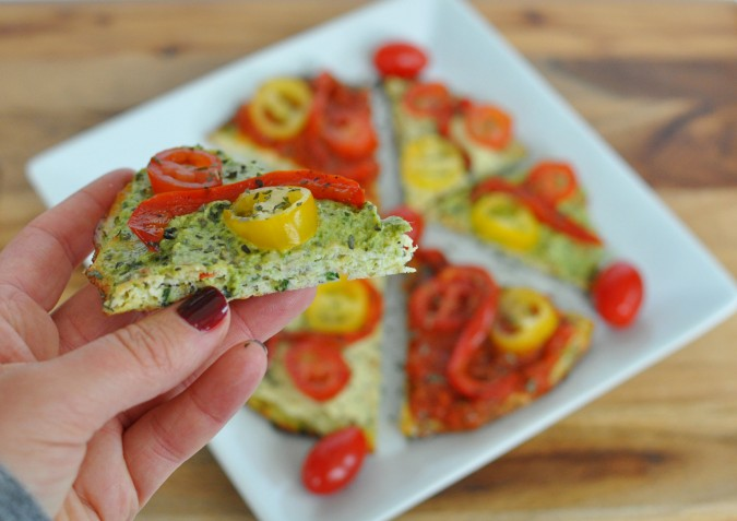 Perfect Paleo, Vegan Zucchini Pizza Crust