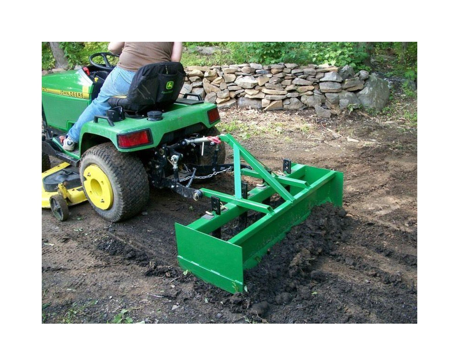 3pt Box Blade Plans DIY Garden Box Scraper Tractor Attachment Build