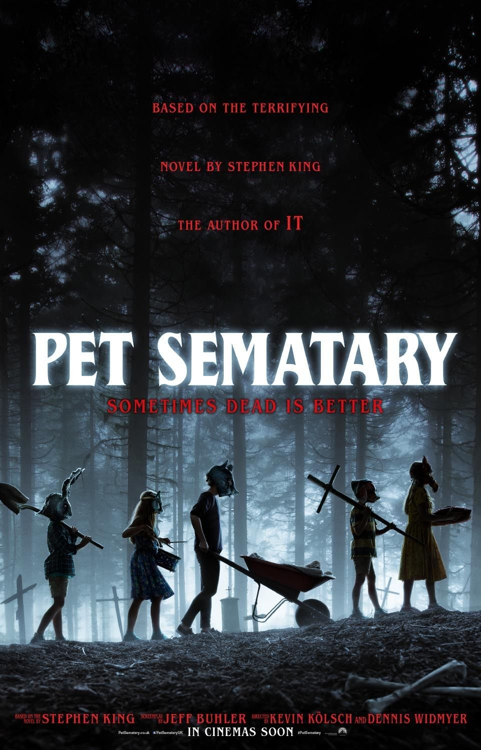 In Uk Cinemas Tomorrow Ryan Holloway Takes A Look At The Latest Adaptation Of Stephen King S Pet Sematary Read Pet Sematary Stephen King Stephen King Movies
